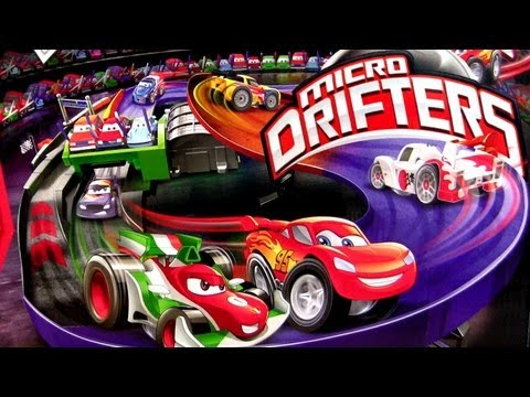 Micro Drifters Motorized Super Speedway Track