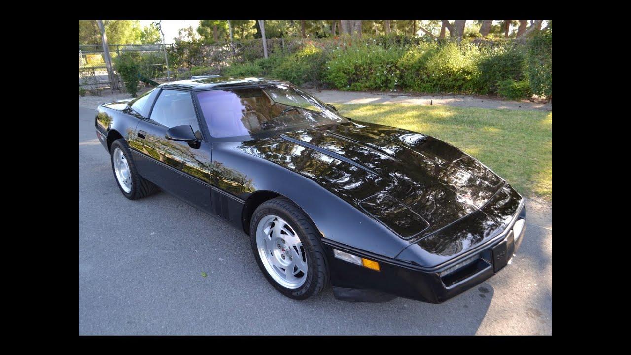 1990 chevrolet corvette zr 1 coupe black for sale by corvette mike. Cars Review. Best American Auto & Cars Review