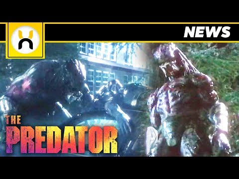 FIRST LOOK at Upgrade Predator in New Trailer for The Predator 2018