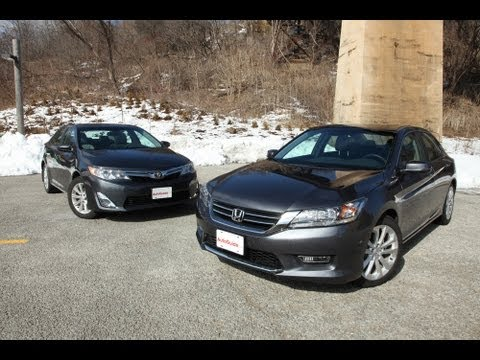 2013 Toyota Camry vs 2013 Honda Accord