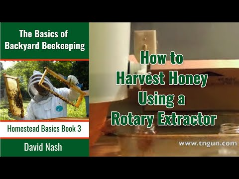 Honey Extraction With A Rotary Extractor