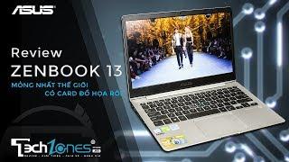 Asus Zenbook 13 (UX331UN) laptop mỏng nhất thế giới có card đồ họa rời
