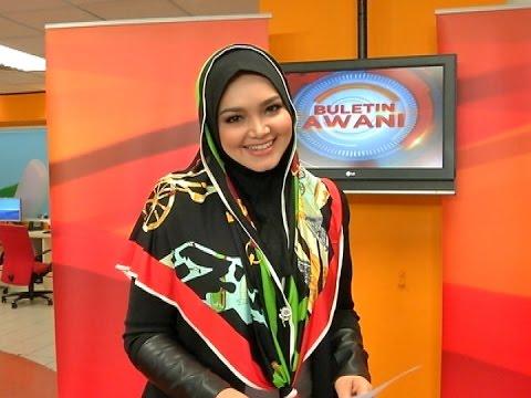 Aksi Datuk Siti Nurhaliza Jadi Pembaca Berita Astro Awani video