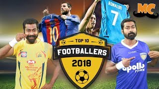 Top 10 Footballers of 2017/18 | Ft. Varun | Countdown | Madras Central