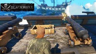 BlackWake EPIC PIRATE NAVAL COMBAT GAME!  BlackWake Multiplayer PvP Gameplay! Yarrrrgggg!