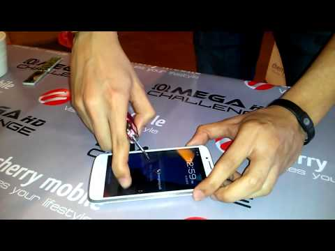 Cherry Mobile Omega HD - Physique. Scratch-resistance. and Wet-tracking Test