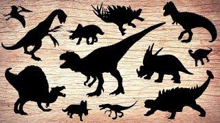 Learn Dinosaurs for Kids | Scary Dinosaur movie Compilation | Tyrannosaurus Pteranodon