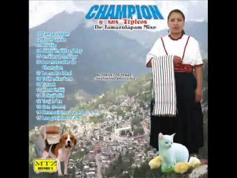 "TAMAZULAPAM MIXE ""LAS MASCOTAS DE CHAMPION"""