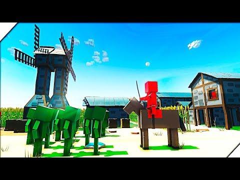 250 ЗОМБИ НАПАЛИ НА ФЕРМЕРОВ - Игра Ancient Warfare 3. Игры про зомби