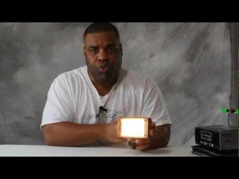 F&V Z96 Led video light and demonstration