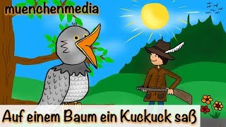 Kinderlieder deutsch - Auf einem Baum ein Kuckuck saß