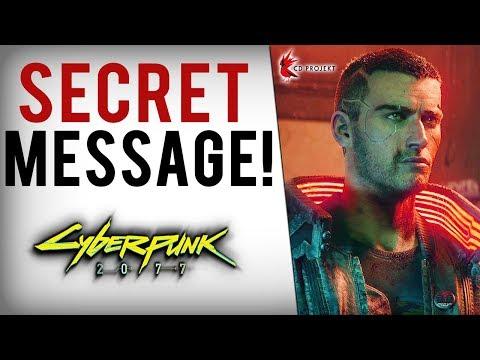Cyberpunk 2077 - Secret E3 Message Discovered, Gameplay Breakdown, Keanu Reeves Info & Next Reveal!