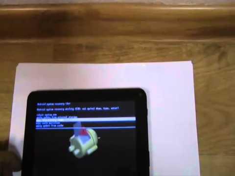 Сброс графического ключа на планшете с Андроидом