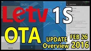 LeTV 1S NEW OTA Updates 2016