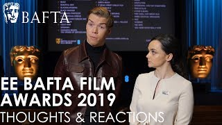 Will Poulter and Hayley Squires: Thoughts on the 2019 EE British Academy Film Awards Nominations