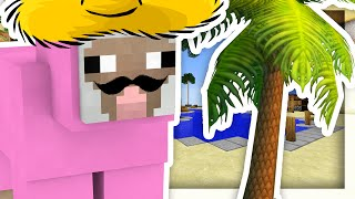 PINK SHEEP GOES ON VACATION!! | Minecraft