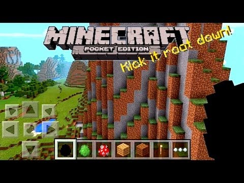 Minecraft Pocket Edition 0.90 Review - Infinite Worlds. Biomes
