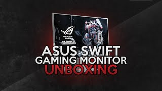 Gaming Monitor ASUS RoG Swift UNBOXING! - G-Sync, 144hz, 1440p Monitor