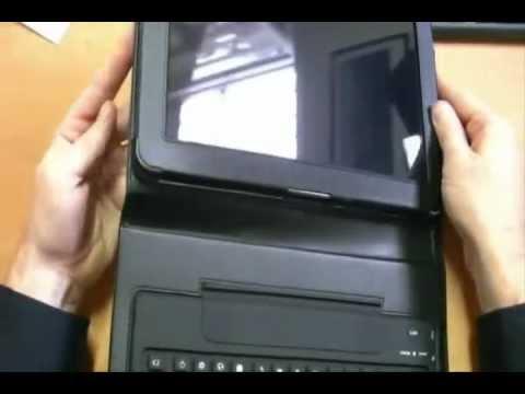 Funda con Teclado Para Samsung Galaxy Tab 10.1 Pulgadas - www.tienda8.cl