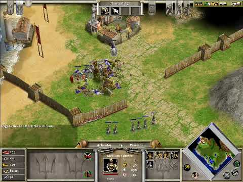 Age of Mythology - Fall of the Trident Campaign - 03 Scratching the Surface Part [3/3]