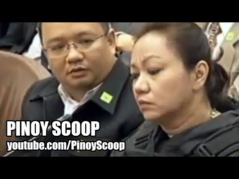 Janet Lim-napoles Had Sex In The Hospital Which Caused Her Bleeding? video