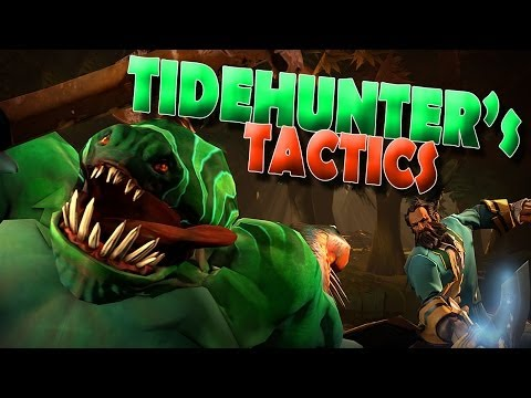 A Dota Short : Tidehunter's Tactics