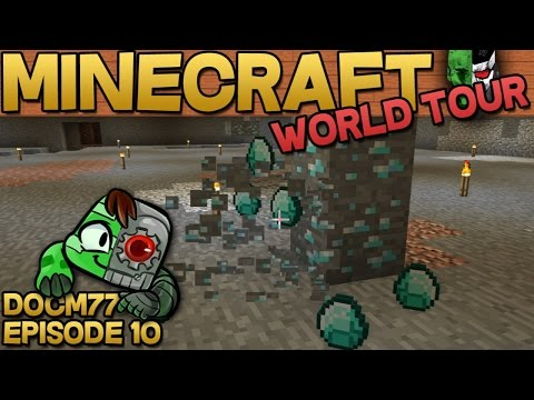 The Diamond Cave — The Minecraft World Tour — S4E010 | Docm77