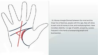 PALMISTRY & PALM READING MONEY LINES AND WEALTH LINES | SIGNS AND LINES OF MONEY, SIGNS OF WEALHT |