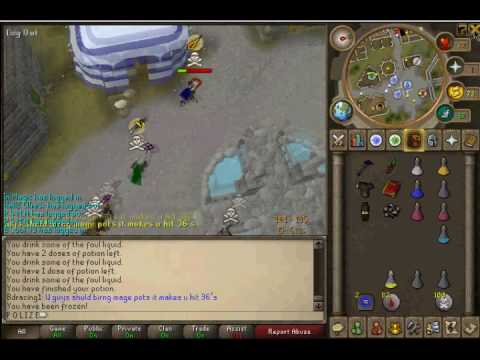 RuneScape - P O L I Z E  How to loose your bank?! two easy step