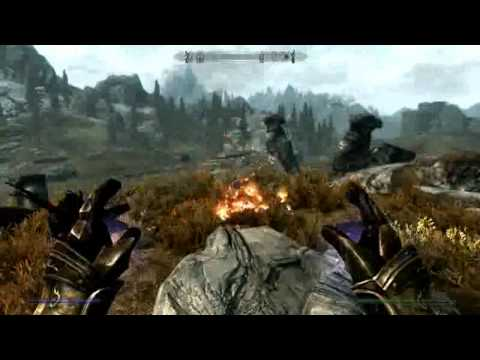 Skyrim Mammoth vs Dragon Skyrim Pure Mage vs Dragons