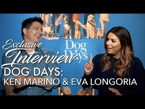 DOG DAYS Interview: Eva Longoria & Ken Marino