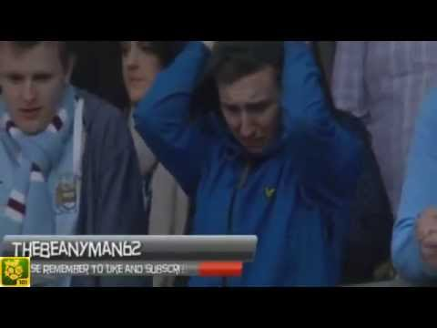 [FUNNY] Man City fan cries, goes crazy and SWEARS at himself after Wigan win FA Cup
