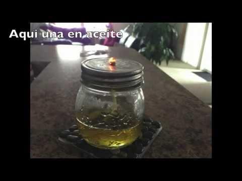 Como hacer lamparas en aceite o en alcohol con envases que - Hacer ambientador casero con suavizante ...
