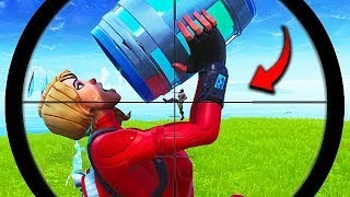 *ONE in 1 BILLION* LUCKIEST SNIPE EVER! - Fortnite Funny Fails and WTF Moments! #505