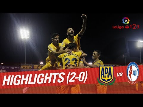 Resumen de AD Alcorcón vs CF Rayo Majadahonda (2-0)