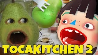 Pear FORCED to Play - TOCA KITCHEN!