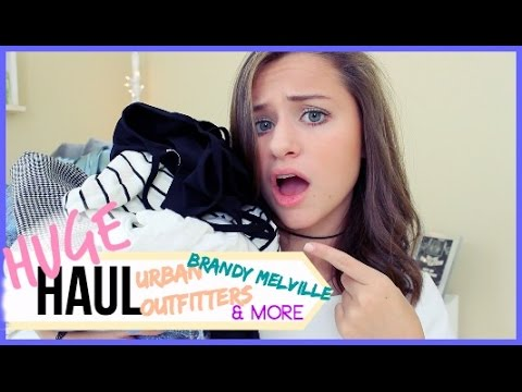 Back to School Clothing HAUL! // Urban Outfitters, Brandy Melville + More!
