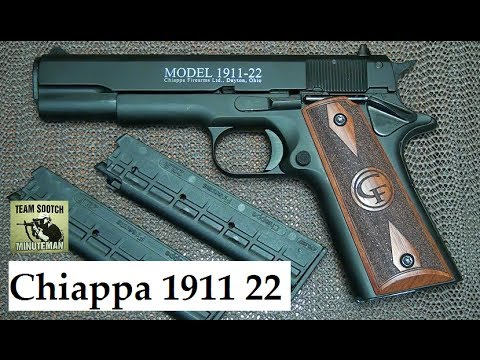 Chiappa 1911 22 Pistol Review