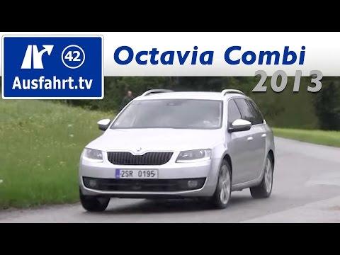 2013 Skoda Octavia III Combi 2.0 TDI - Probefahrt / Fahrbericht / Test / Review