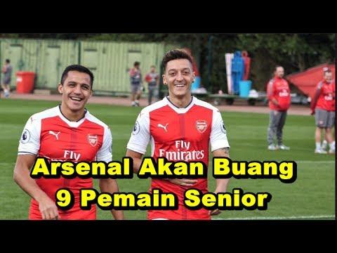 MENGEJUTKAN! Bursa Transfer Liga Inggris - Arsenal Akan Buang 9 Pemain Senior, siapa saja mereka?