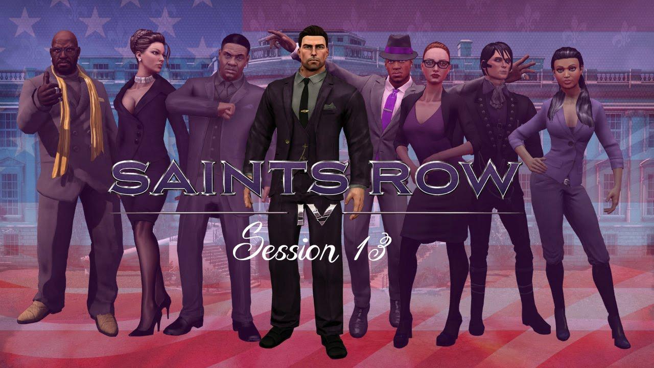 Как в saints row 3 сделать крутого персонажа
