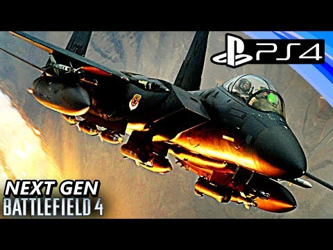 PS4 Battlefield 4 (BF4) AIR SUPERIORITY Gameplay Multiplayer JET DUEL - NEXT GEN BATTLEFIELD