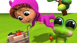 Runaway Veggies! | Learn Colors | Educational
