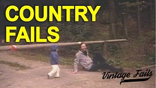 Vintage Fails Compilation #2 - Country Fails - Old but funny!