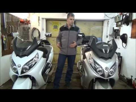 MAXSYM 600i и MAXSYM 400i  Видео обзор