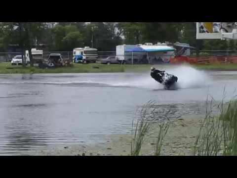 Snowmobile Watercross - Brainerd International Raceway