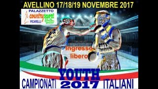Campionati Italiani Youth 2017 Avellino 17-19 Nov. - FINALI