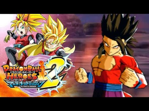 WHY DOES SUPER SAIYAN 4 GOHAN LOOK SO CLEAN!?! | Dragon Ball Heroes Ultimate Mission 2 Gameplay!