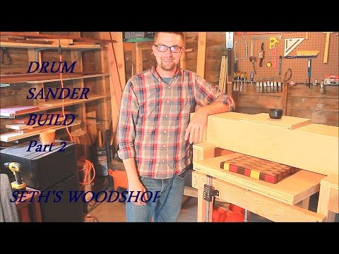 DIY Building a Drum Sander/Thickness Sander Part 2