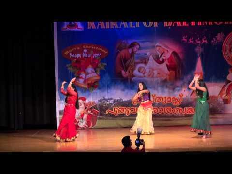 Kairali Of Baltimore Christmas And New Years 2015- Do Dhaari Talwar Dance video